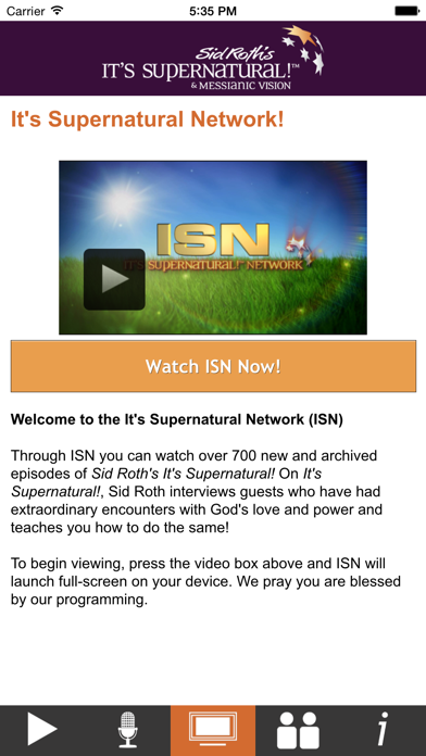 Sid Roth's It's Supernatural! screenshot two