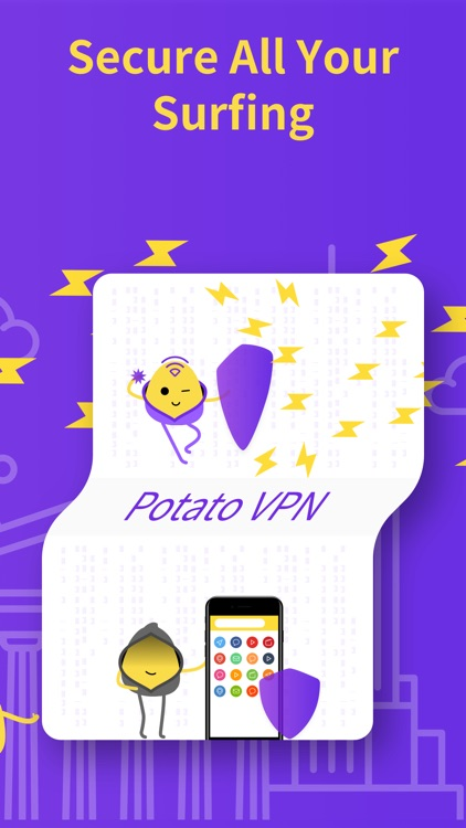 VPN PotatoVPN -Fast WiFi Proxy screenshot-3