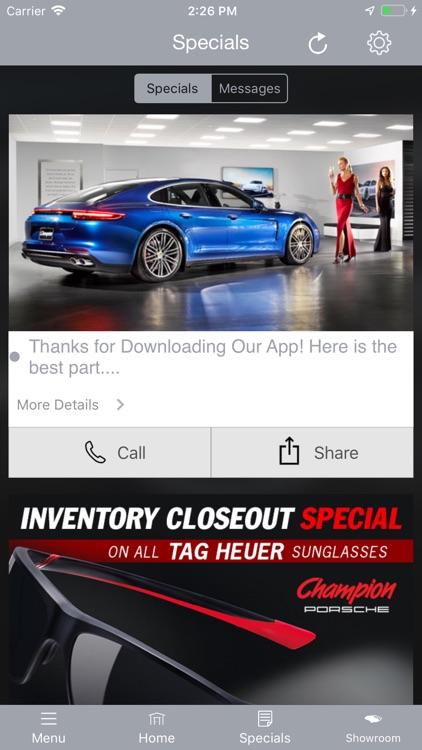 Champion Porsche MLink screenshot-5