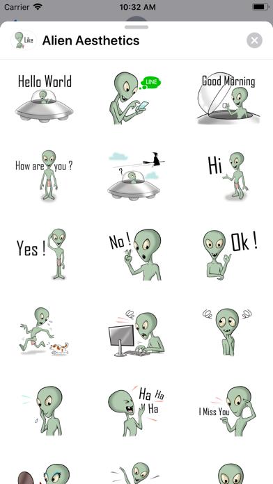 Alien Aesthetics screenshot 1