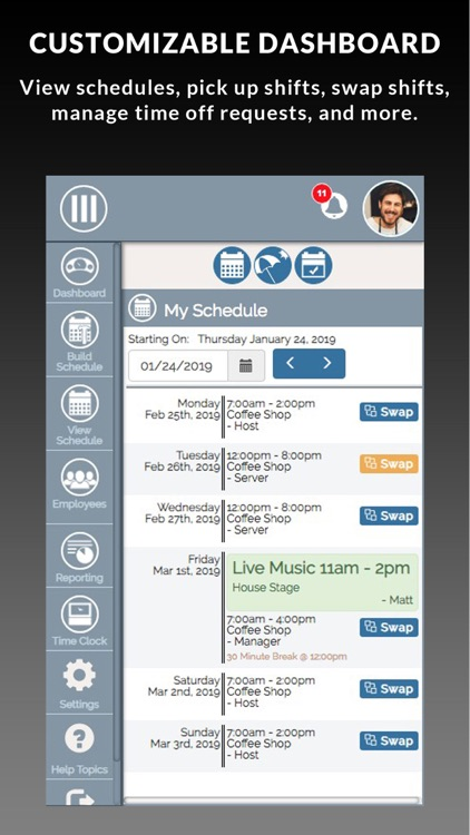SHIFTR Employee Scheduling screenshot-6