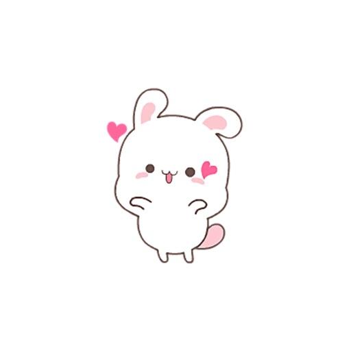 HappyRabbit-Sticker