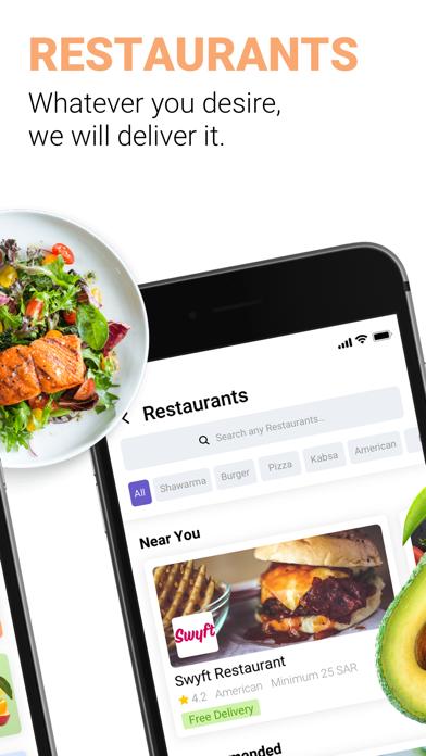 Screenshot for Swyft Delivery in Jordan App Store