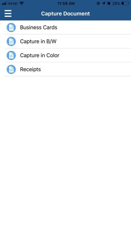 Kofax Mobile Capture™ screenshot-4