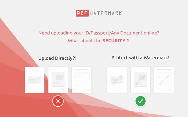 PDF Watermark - Text and Image for Mac