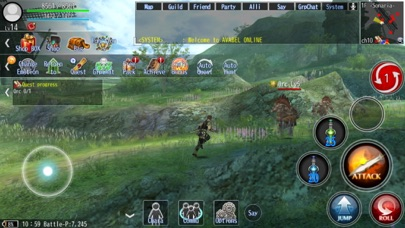 Screenshot from RPG AVABEL ONLINE