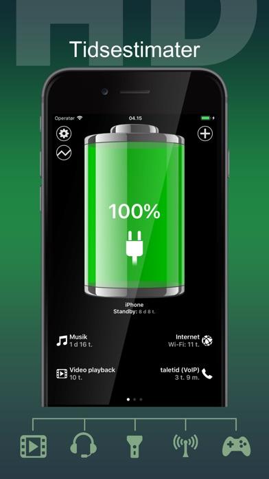 Screenshot for Batteri HD Pro in Denmark App Store