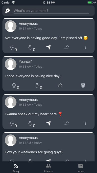 Profoundly: Anonymous Chats app image