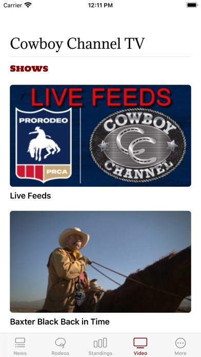 The Cowboy Channel Plus Screenshot