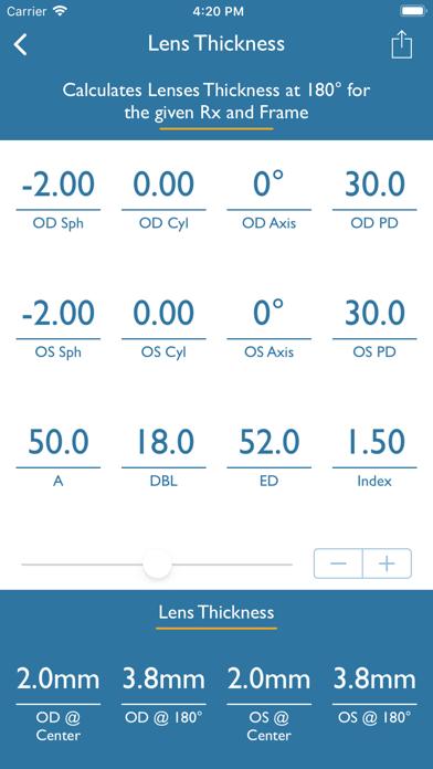 Optical Calculator screenshot four