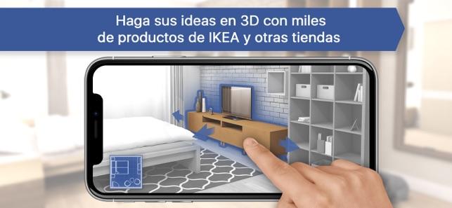 Dise o de interiores de ikea en app store for Mejores apps de diseno de interiores
