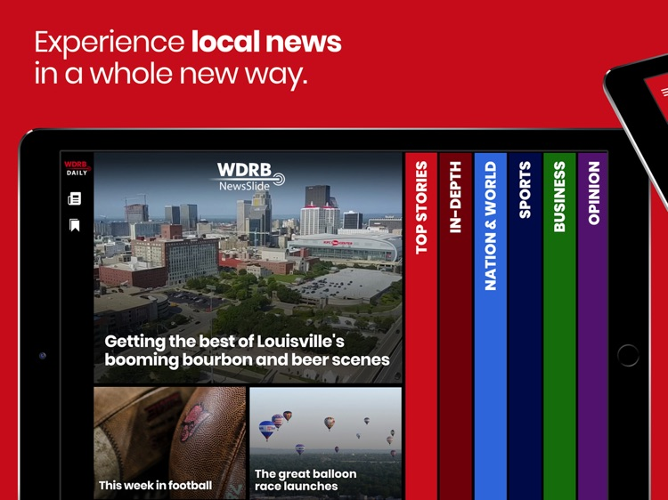 WDRB NewsSlide for iPad