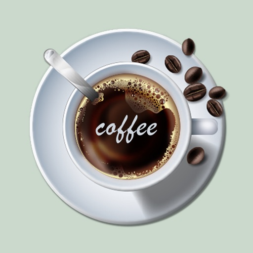 Latte Coffee Stickers