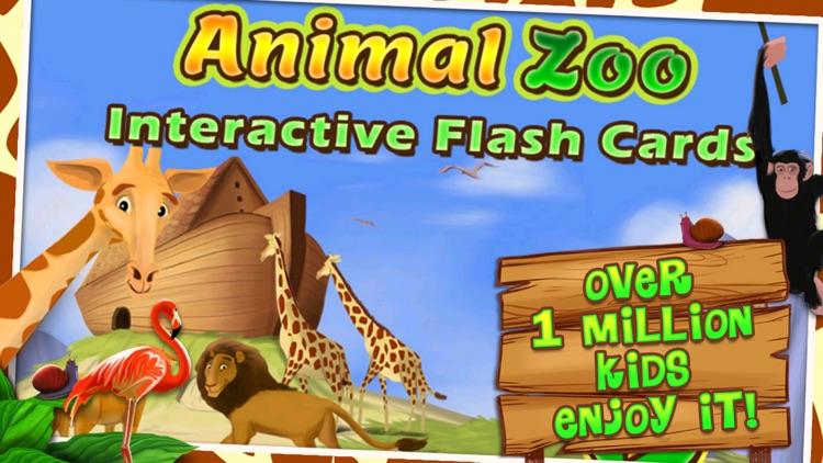 Zoo Animals Flash Cards