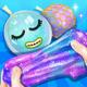 Balloon Glitter Slime