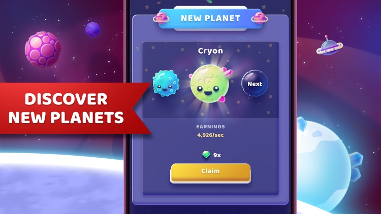 Moonies - Merge Planets Game screenshot-6