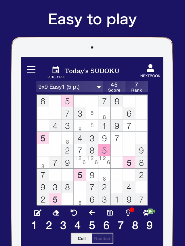 Sudoku — Next Number Puzzle on the App Store