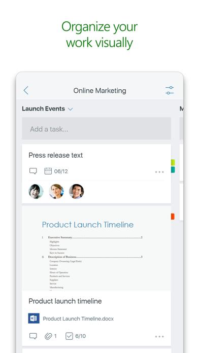 Microsoft Planner screenshot 1