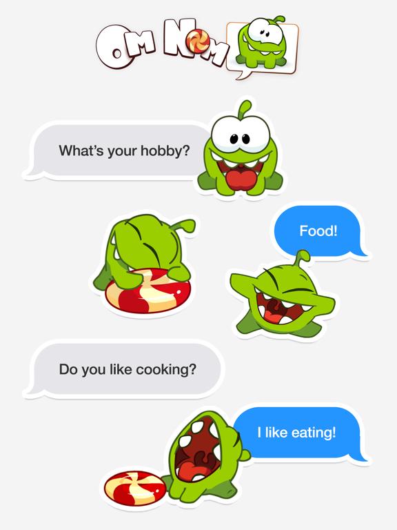 Screenshot #5 pour Om Nom Stickers