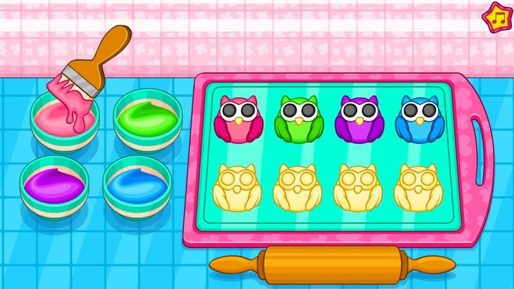 Cooking owl cookies game screenshot-4