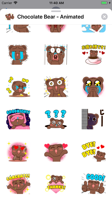 Chocolate Bear - Animated screenshot 2