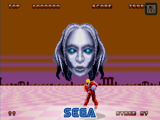 Space Harrier II Classic screenshot 7