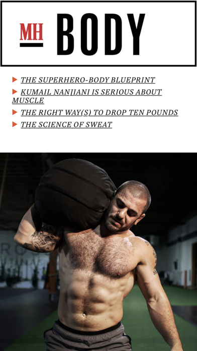 Screenshot for Men's Health Magazine in Estonia App Store