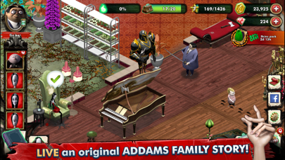Addams Family Mystery Mansion screenshot 1