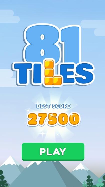 81 Tiles - Color Block Puzzle screenshot-4