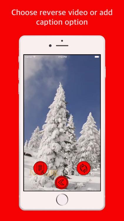 Reverse video - Add caption screenshot-4