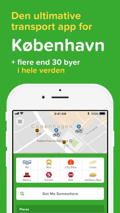Screenshot for Citymapper in Denmark App Store