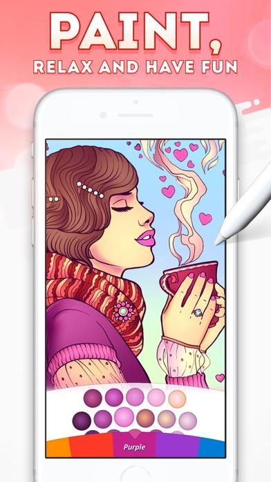 Magic Coloring - Paint Book screenshot 1