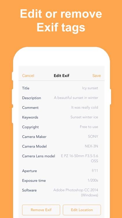 Exif Metadata screenshot-3