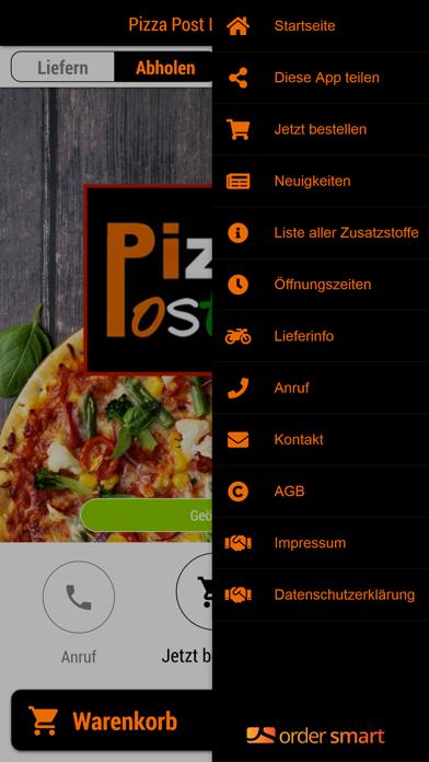 Pizza Post LieferserviceScreenshot von 3