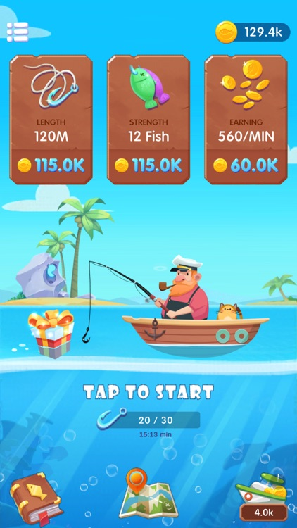 Fishing Fantasy Deluxe screenshot-3