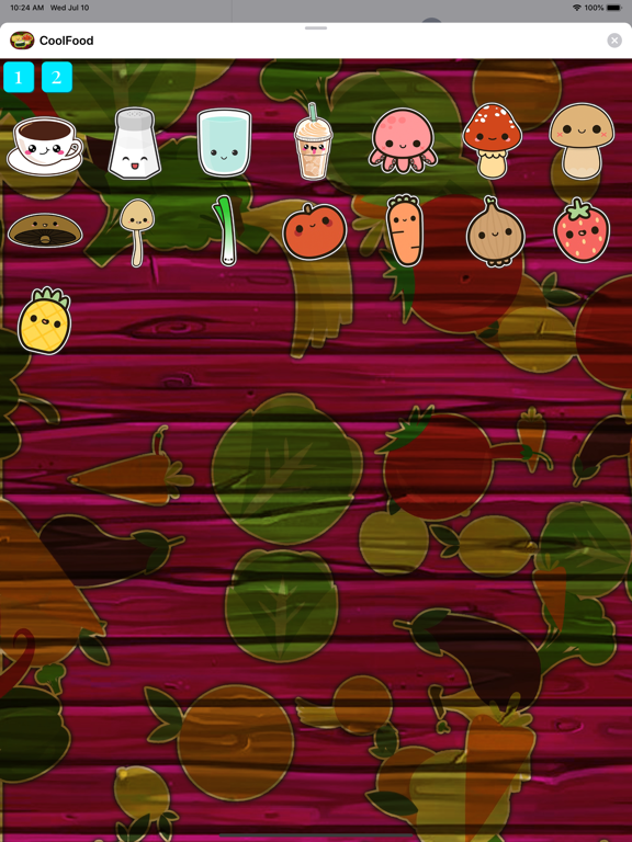 CoolFood Sticker screenshot 8