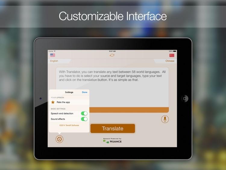 Translate Translator!! HD! screenshot-4