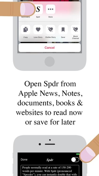 Spdr - Speed Reading