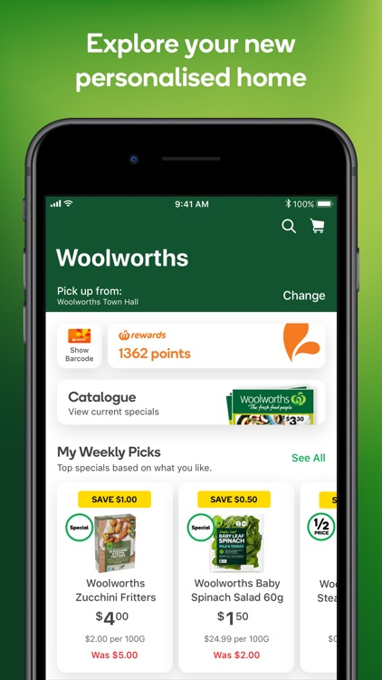 Woolworths screenshot-1