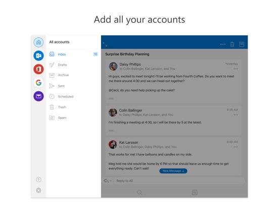 Screenshot #5 for Microsoft Outlook
