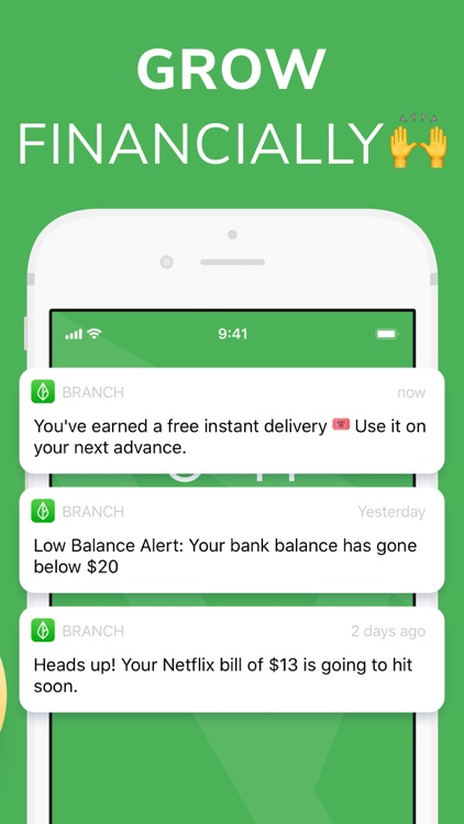 Branch: Budget & Get Paid Now screenshot-3
