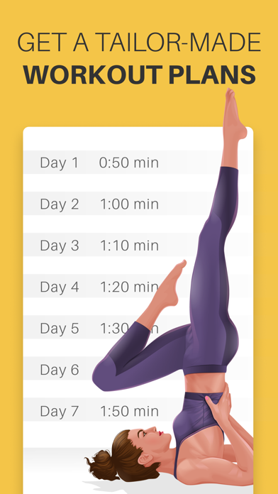 Screenshot for Yoga-Go: Weight Loss Workouts in United Arab Emirates App Store