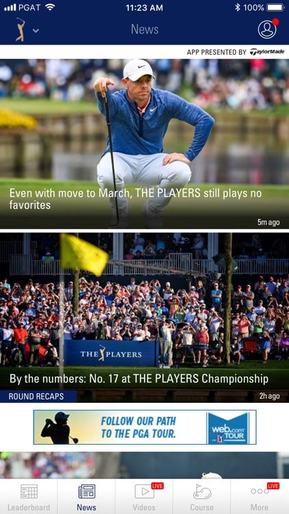 PGA TOUR Mobile screenshot-3
