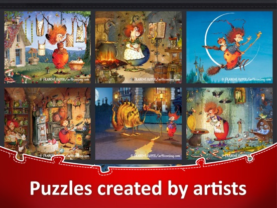 Jigsaw Puzzle Collection HD screenshot 16