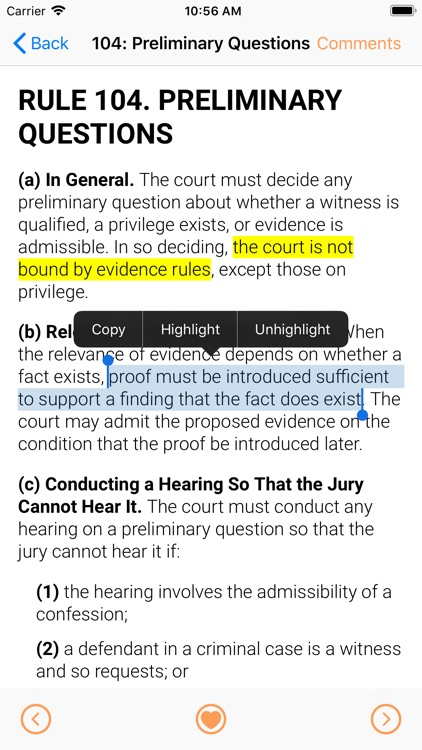Trial Rules