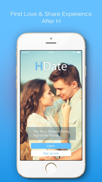 #1 Herpes Dating App - HDate! screenshot-0