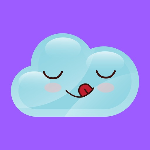 cloudy lovely emoji stickers 2