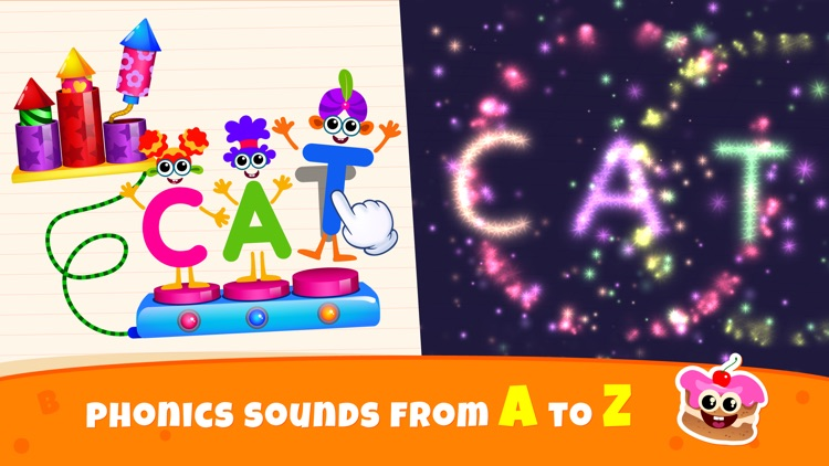 Games for Kids Reading Letters screenshot-7