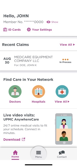 UPMC Health Plan on the App Store