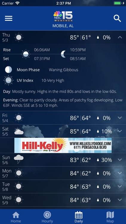 NBC 15 Weather screenshot-4